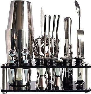 Premium Cocktail Shaker Set Roestvrijstalen Drinken Mixer Set Bar Gereedschap Met Shaker Meten Cup Bar Spoon Geschikt Voor...