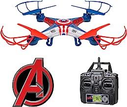 World Tech Toys 2.4Ghz Marvel - Captain America Sky Hero 4.5 Channel RC Drone