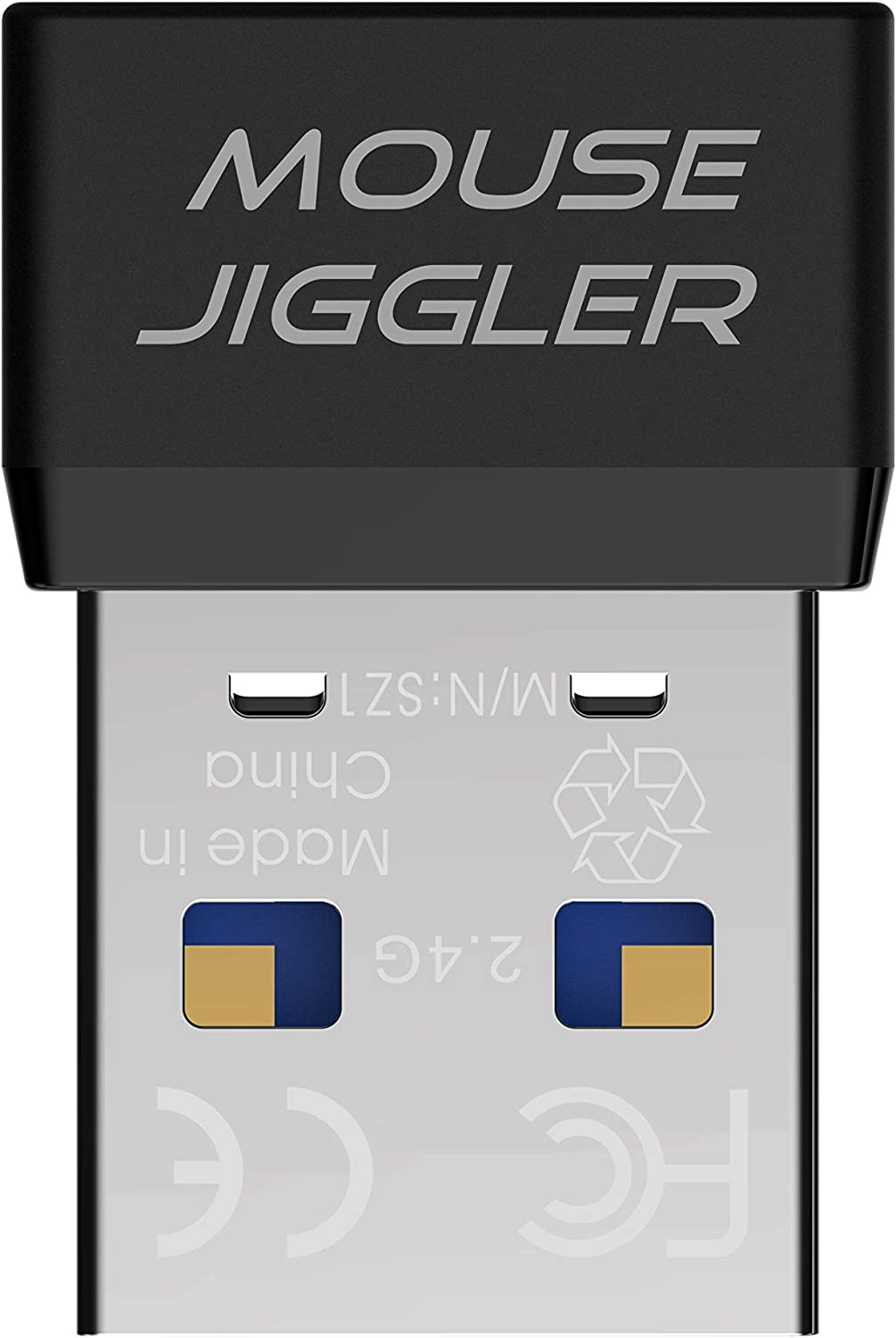 USB Mouse Jiggler Automatic Computer Mouse Mover Jiggler USB Port for Computer Laptop- Keeps Computer Awake,Simulate Mouse Movement to Prevents Computer from Going into Sleep,Plug-and-Play