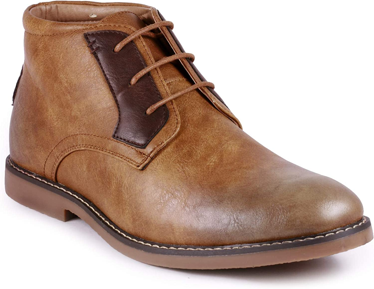 Metrocharm MC138 Men's Lace up Casual Fashion Ankle Chukka Boots