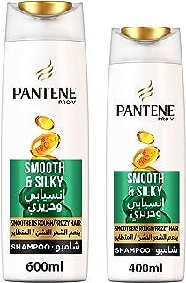 Pantene Pro-V Smooth & Silky Shampoo 600 ml 400 ml