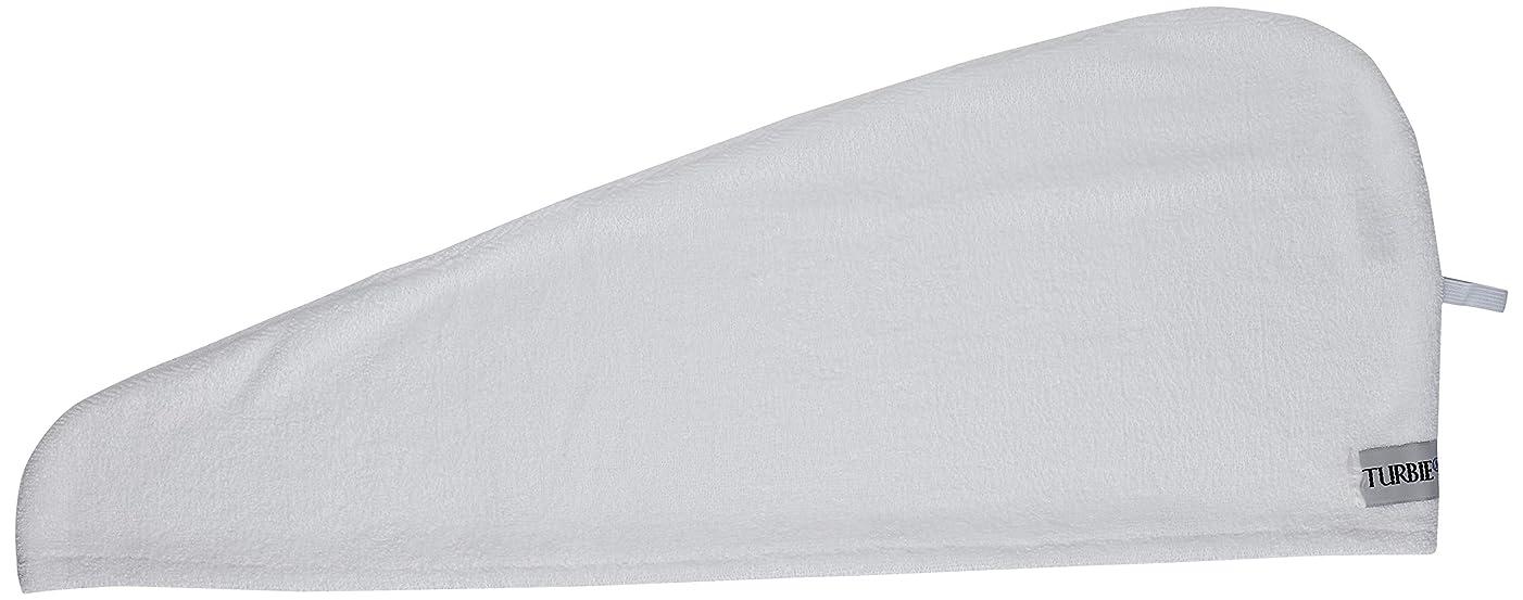 ページ税金指(White) - Turbie Twist Microfiber Hair Towel (2 Pack)