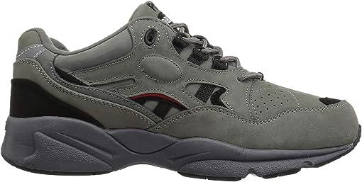 Grey/Black Nubuck