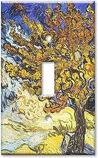 Art Plates - Van Gogh: Mulberry Tree Switch Plate - Single Toggle