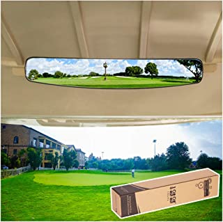 10L0L Golf Cart Rear View Mirror Fits EZGO Club Car Yamaha