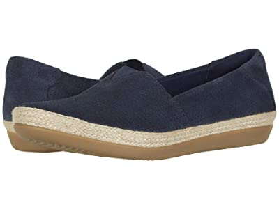 Clarks Danelly Sky (Navy Suede) Women