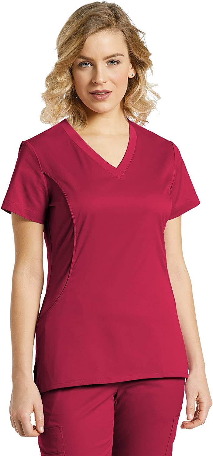 Allure Side Panel TopHeritage Red,XS