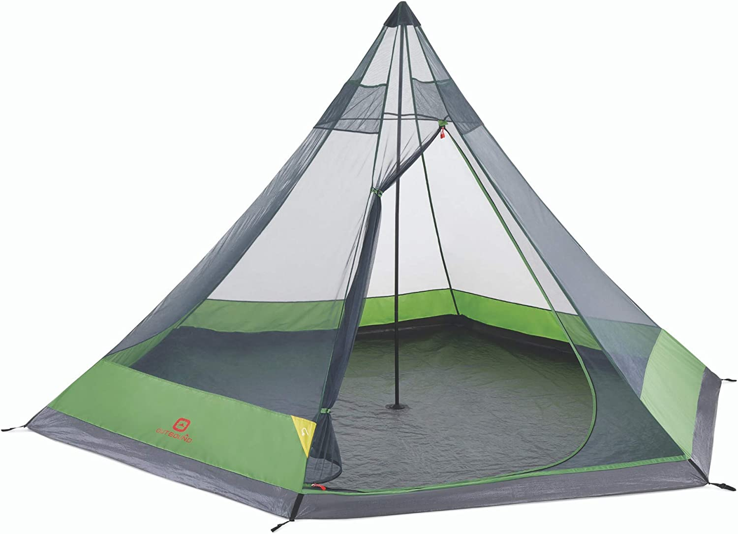 Outbound 6-Person 毎日続々入荷 Festival Tent for 定価 Camping Bag Carry R with and