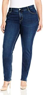 LEE Women's Plus-Size Easy Fit Frenchie Skinny Jean