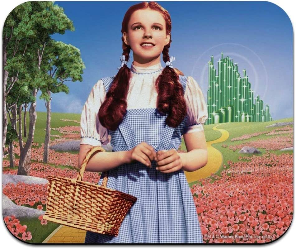 Wizard of Oz Dorothy Character Low Profile Thin Mouse Pad Mousepad