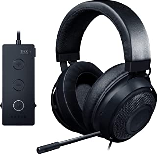 Razer Kraken Tournament Edition:Thx Spatial Audio,Full Audio Control,Cooling Gel-Infused Ear Cushions,Gaming Headset Works With Pc, Ps4, Xbox One, Switch, Mobile Devices - Black, Rz04-02051000-R3M1