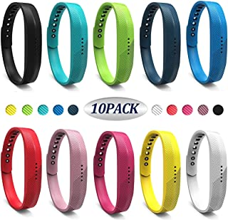 Replacement Wrist Band Compatible for Flex 2, Soft Silicone Accessory Wristband Strap for Flex 2 Sports Classic Fitness Tracker