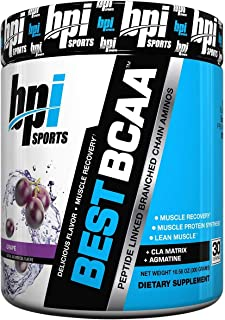 Bpi Sport Best Bcaa Amino Acid Powder Grapes, 300 G