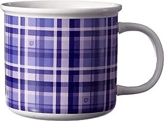 Glitch Plaid Camper Mug