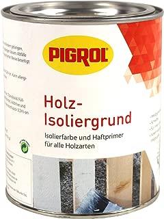Pigrol Holz Isoliergrund 0,75L weiss Isolierfarbe und Haftprimer für alle Hölzer