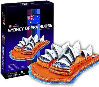 Cubic Fun C067H Sydney Opera House 3D Puzzle - 58 Pieces
