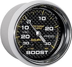 autometer carbon fiber gauge