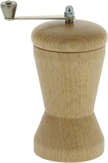 Marlux 3-7/8-Inch Nutmeg Mill, Beech Wood with Crank, Natural