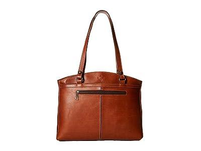 Patricia Nash Poppy Tote (Vegtan) Tote Handbags