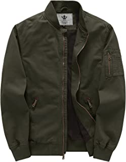 Men's Cotton Casual Military Bomber Jacket