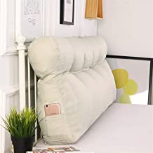 Korean Version Of The Headboard Large Cushion Soft Bag Removable Washable Cotton Large Back Sofa Long Pillow Bed Back yang...