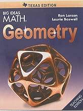 Big Ideas MATH, Geometry, Texas Edition, Teaching Edition, 9781608408184, 1608408183