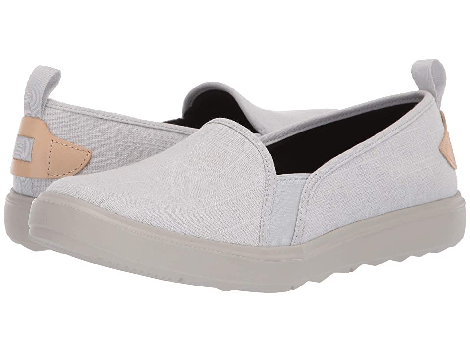 Image of Merrell Around Town Ada Moc Canvas (Glacier Grey) Women's Shoes