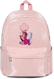 Men's Womens Pink-Diamond-Half-Gem-Hero- Steven-Universe- Backpacks Book Hiking Bags Nylon