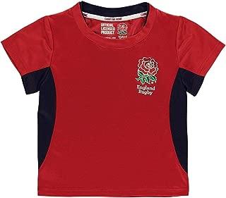 England Rugby RFU Polyester T-Shirt Infants Fan Top Tee Shirt