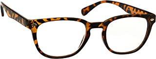 Brown Tortoiseshell Near Short Sighted Distance Glasses Myopia Gregory Peck Style Mens Womens Spring Hinges M14-2T -1.50