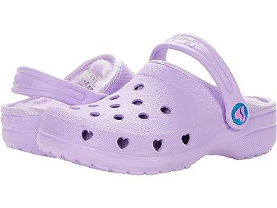 SKECHERS KIDS Cali Gear Heart Charmer Faux Fur Lined Clog 308015L (Little Kid/Big Kid) (Lavender) Girl