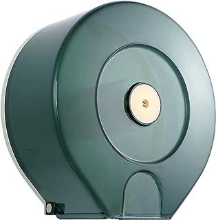 Jumbo Roll Toilet Paper Dispenser - Lockable Design - Translucent - 250M Long up to 4-1/4