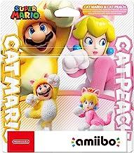 Amiibo Cat Mario e Cat Peach 2-Pack Super Mario