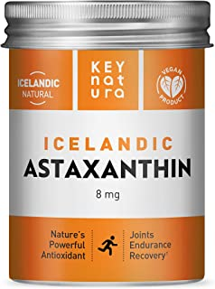 Sponsored Ad - Icelandic Astaxanthin 8mg | All Natural Vegan Non-GMO Gluten Free Powerful Antioxidant Grown in Iceland | S...