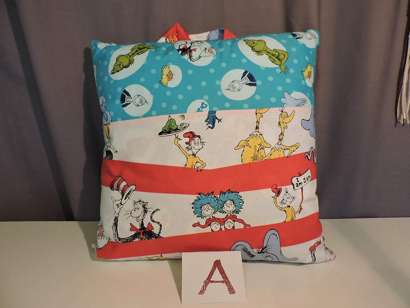 Dr Suess Reader Pillow; Child's Pillow, Pocket Pillow - 16