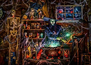 Vermont Christmas Company Witches' Brew Jigsaw Puzzle 1000 Piece