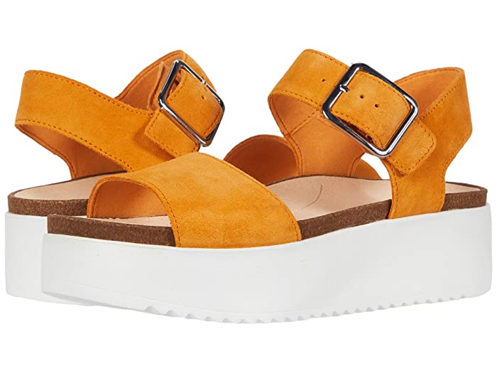 Clarks  Botanic Strap (Amber Suede) Womens Shoes