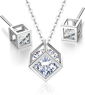 (London) Jewelry, Imported Cube Crystal Pendant And...