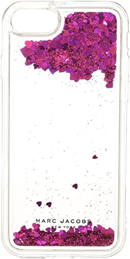 Marc Jacobs - Floating Glitter iPhone 7/iPhone 8 Case