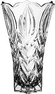 Jarrón de Cristal al Plomo 2343 24% PbO, translúcido, Maciza