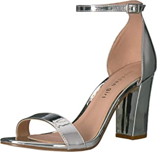 Amazon.com  Silver Women s Heeled Sandals f979da1f96e2