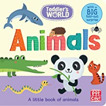 Animals: A little board book of animals with a fold-out surprise (Toddler's World)