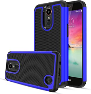 Aetech Phone Case for LG K20 Plus/LG Harmony/LG K20 V/K10 2017/LG LV5 /K20 Cell Phone Case, with Kickstand Stand Cover, Blue
