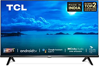 TCL 79.9 cm (32 Inches) HD Ready Certified Android Smart LED TV 32S65A (Black) (2020 Model)