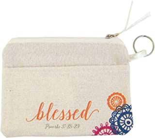 Mother's Day Blessed Catch All Pouch with Card, 5 1/2 Inch