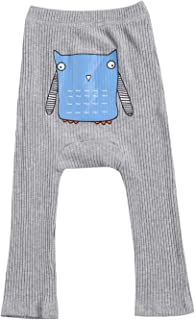 Geagodelia Calzamaglia Bambina Tinta Unita con Motivo di Gatto 3D 0-8 Anni Vita Alta con Collantper Neonate 6 Colori