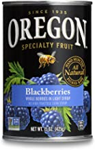 Oregon Fruit Blackberries in Syrup, 15-Ounce Cans (Pack of 8)