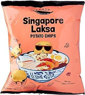 F.EAST Singapore Laksa Potato Chips, 70g