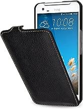 StilGut UltraSlim, Genuine Leather Case for HTC One X9 & HTC One X9 Dual SIM, Black