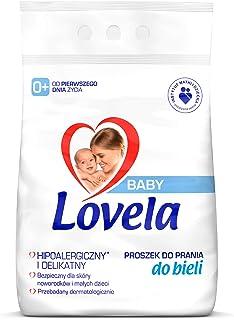 Lovela Baby Hipoalergiczny proszek do prania białego dla dzieci 2,7 kg (27 prań)